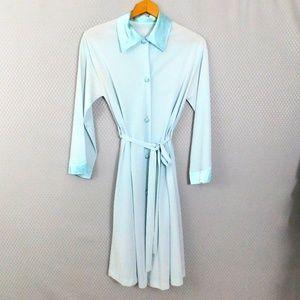 Vintage light blue robe - Size Small